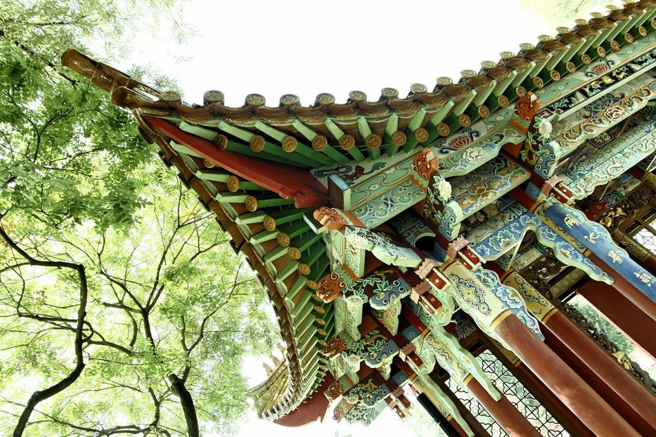 Architecture Building Exterior Built Structure China Garden City Low Angle View No People Outdoors Travel Destinations