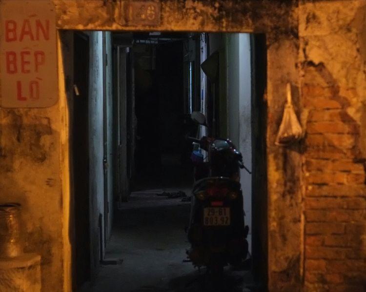 New Player Antique Old Town Hanoi Vietnam Randomshot Dark Night