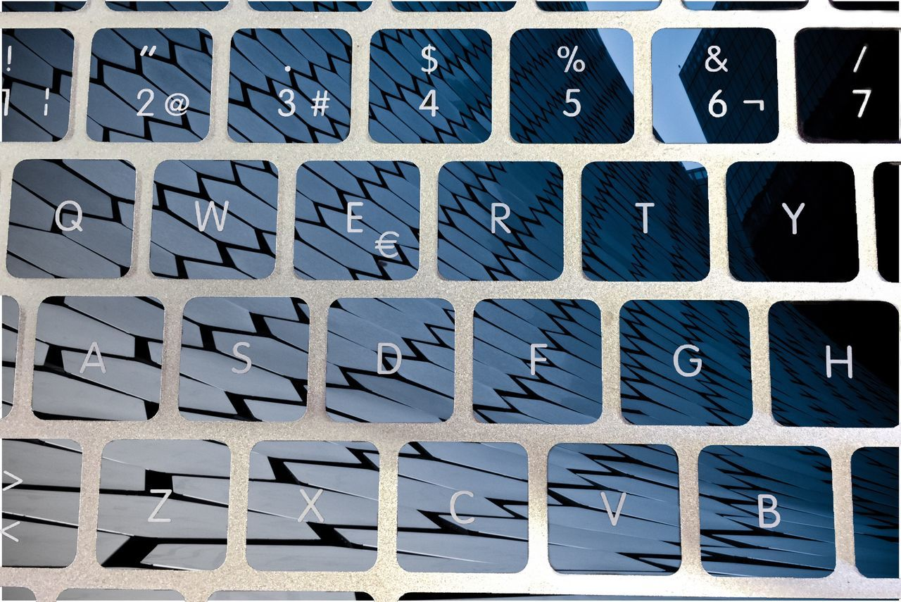 Close Up Technology Keyboard Composition Qwerty Keyboard Qwerty Alphabet Text No People
