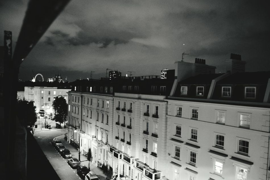 Nightsky. London Lifestyle Silence Of The Night Black And White Photography