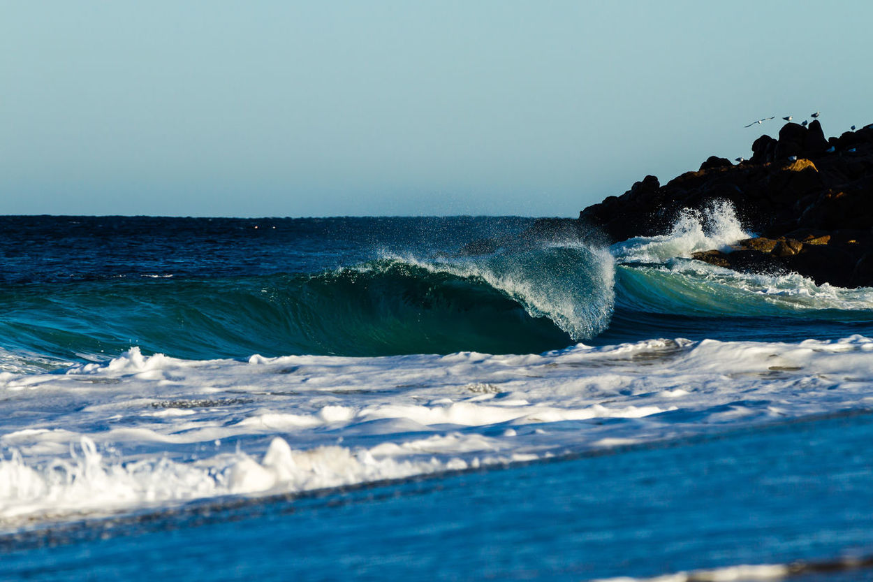Empty early morjing wedge. Wedge Surf Surfing Waves Ocean Water Beach Surf Photography First Eyeem Photo