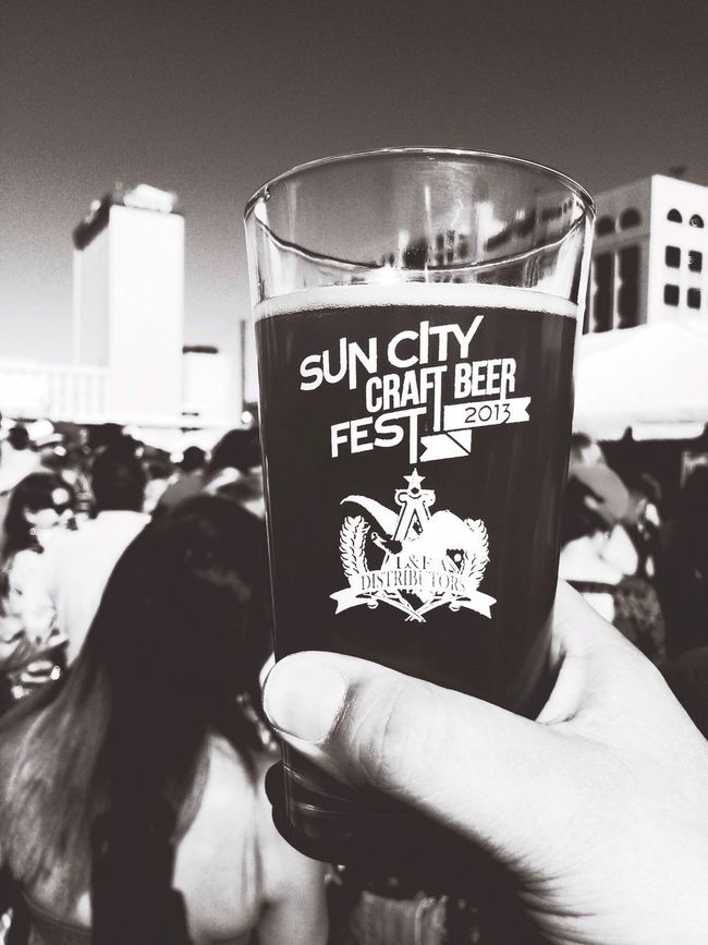 Cheers! Had a great time yesterday. Beer Festival