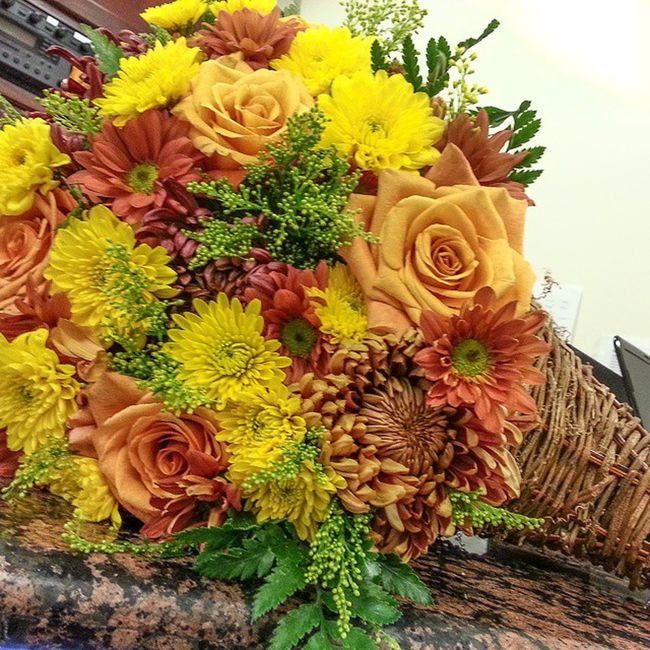 Thanksgiving Cornucopia Flowers Flower