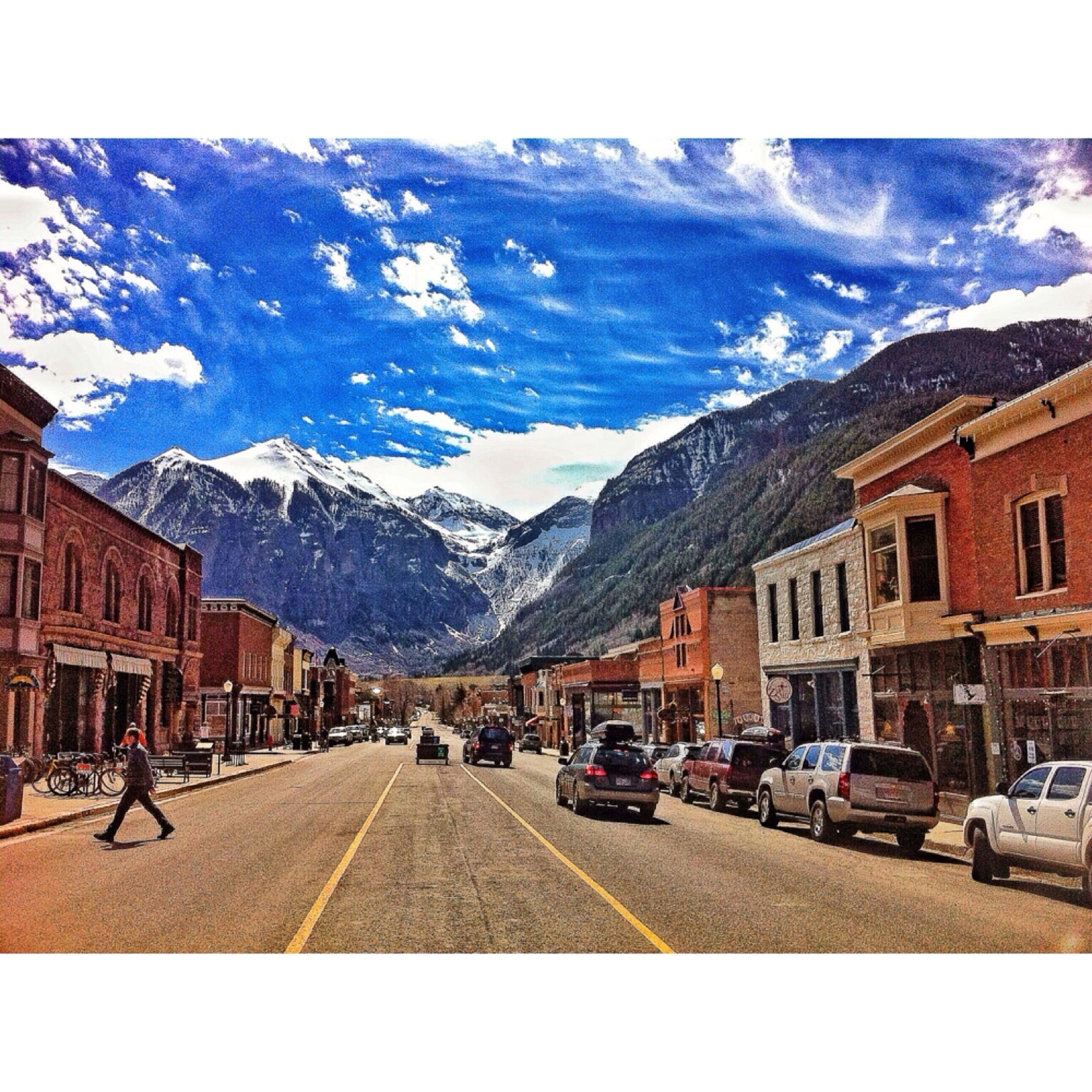 Telluride Colorado Rocky Mountains
