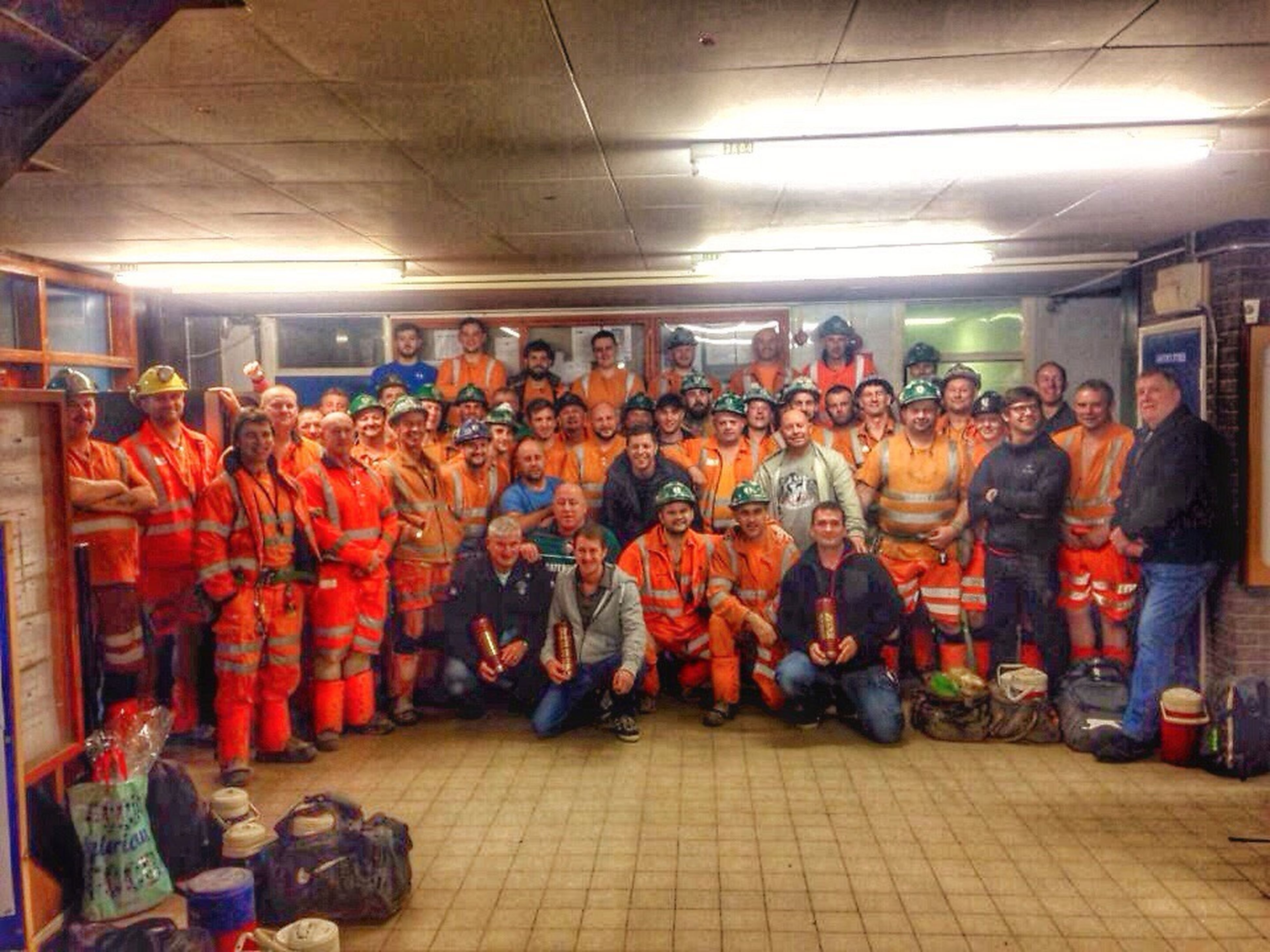 Underground Miners The Very Last Shift Sad Times