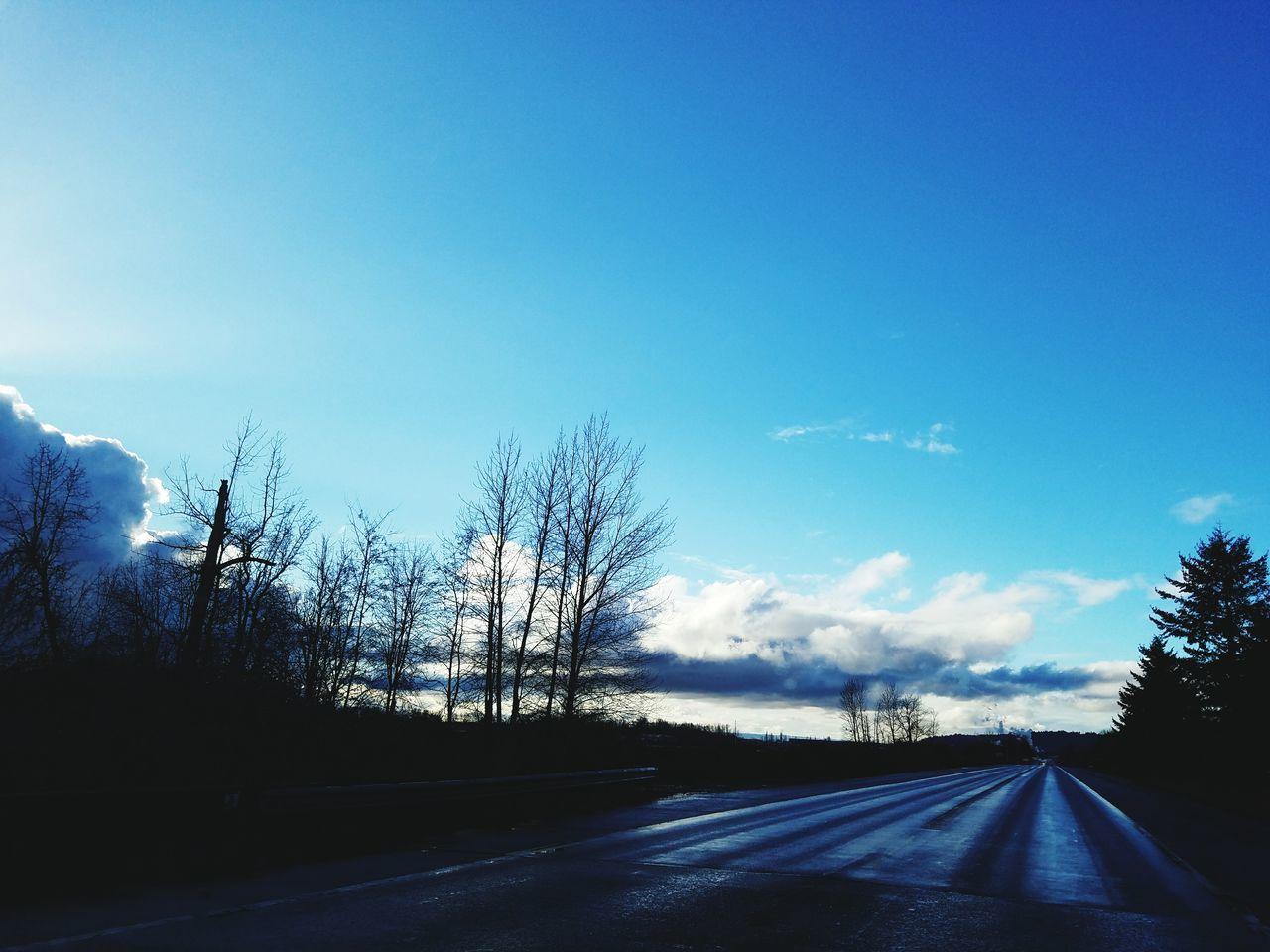 Sky No People Tree Outdoors Road Cloud - Sky Dramatic Sky Scenics Roadscenes