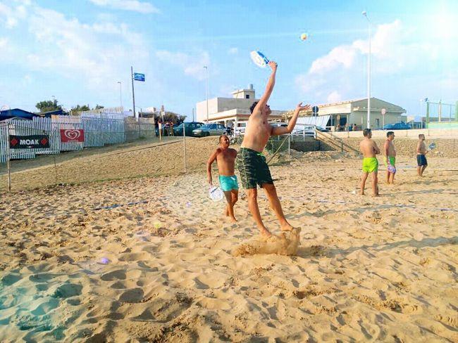 Beach tennis summer beach tennis