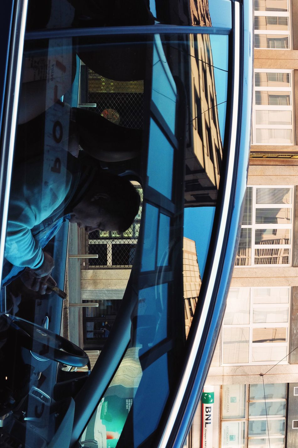 Urban reflections /2. Architecture Close-up Built Structure Building Exterior Outdoors Day Sky Reflection Car