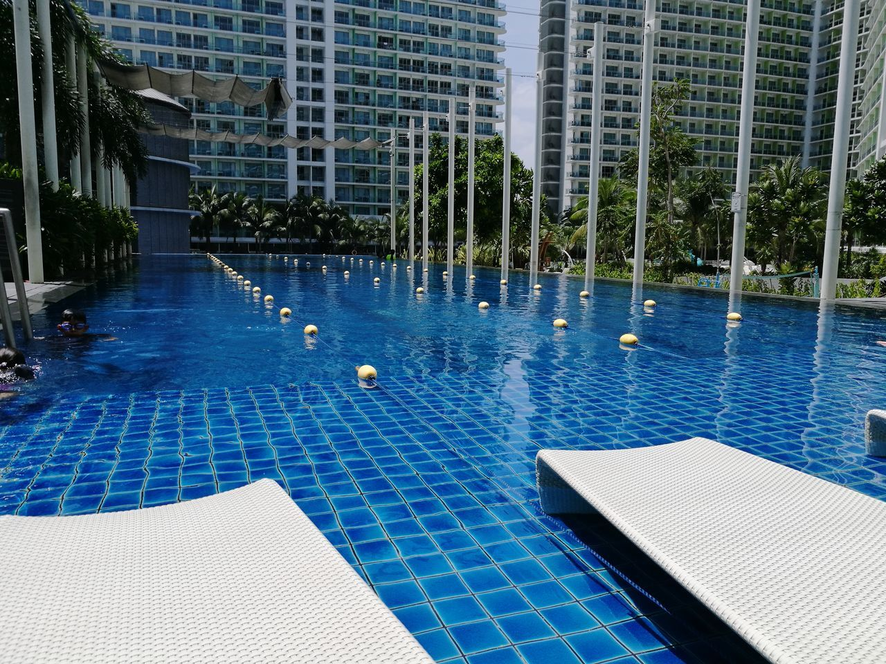 Lap Pool Staycation Azure Urban Beach Resort EyeemPhilippines