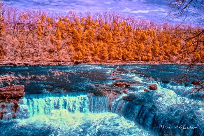 Waterfall at Rock Island State Park, Tennessee. This photo looks awesome in a 20x30 print. 1110471 Waterfall #water #landscape #nature #beautiful sunrise Colorful Sky And Clouds colorful trees Colorful Clouds colorful Outdoors Scenics Tranquil Scene No People Beauty In Nature Vibrant Color Cloud - Sky Sky