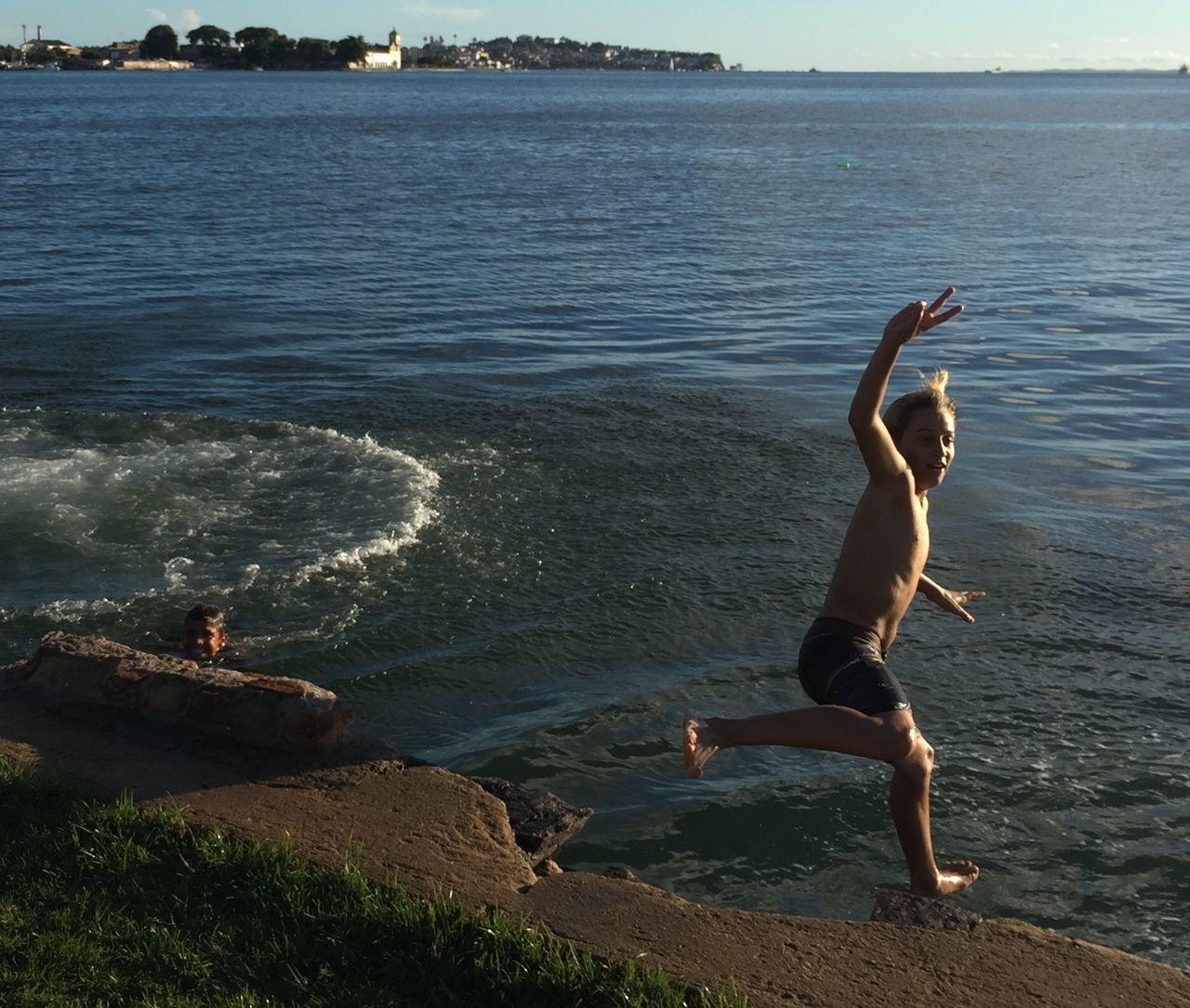 Fui! Jump Jumpshot Verão☀️ Verão Summer Summertime Été Bahia Bahiadetodosossantos BaiaDeTodosOsSantos Brasil ♥ Salvador Salvador Bahia Salvador De Bahia