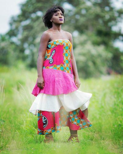 EyeEm Selects Grass Beautiful Woman Trinidadandtobago Portrait Outdoors Lookintomyeyes Sounds Of Blackness African Beauty Soul