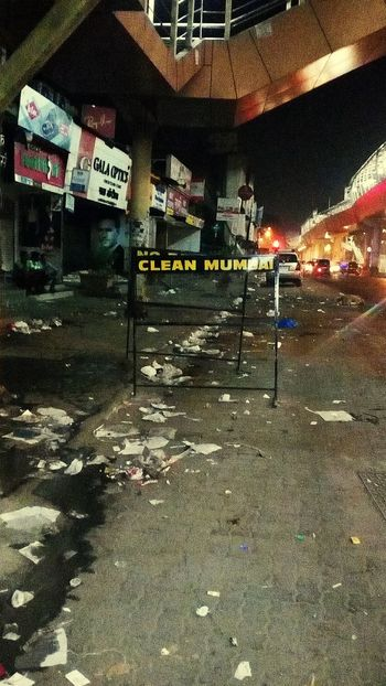 Clean mumbai looks like this