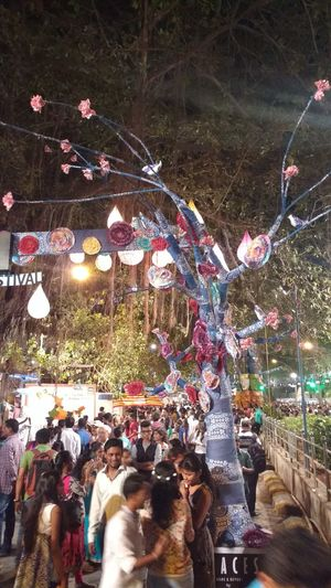 Public Kalaghoda Festival 2016 EntryGate Gatetohappyness Night Festival