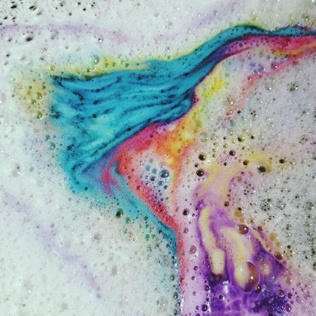 Lush baths are the best baths. Lushcosmetics Prettycolours Interestingbaths Swirls