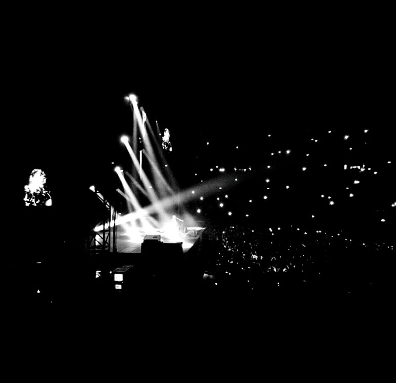 For The Love Of Music Edsheeran Edsheeranconcert Concert Blackandwhite Rome First Eyeem Photo