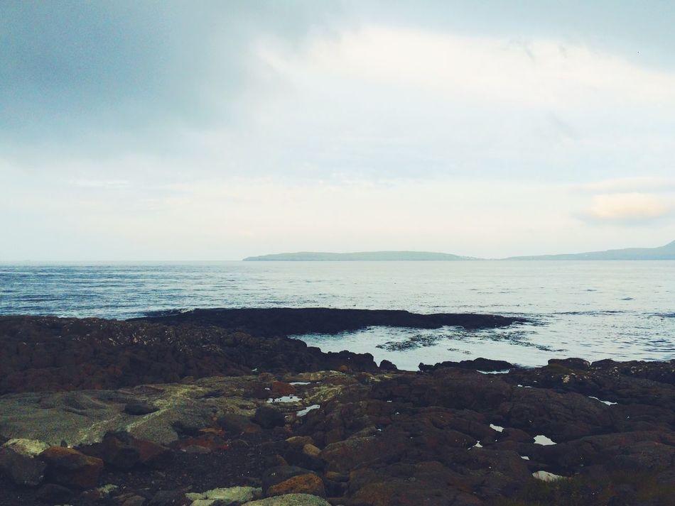 Traveling Travel Beautiful Landscape Horizon Island Faroe Islands Tórshavn View Nature