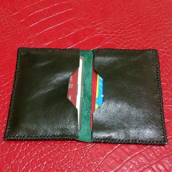 Card & Cash Leather Art Handmade Leatherbag Leather