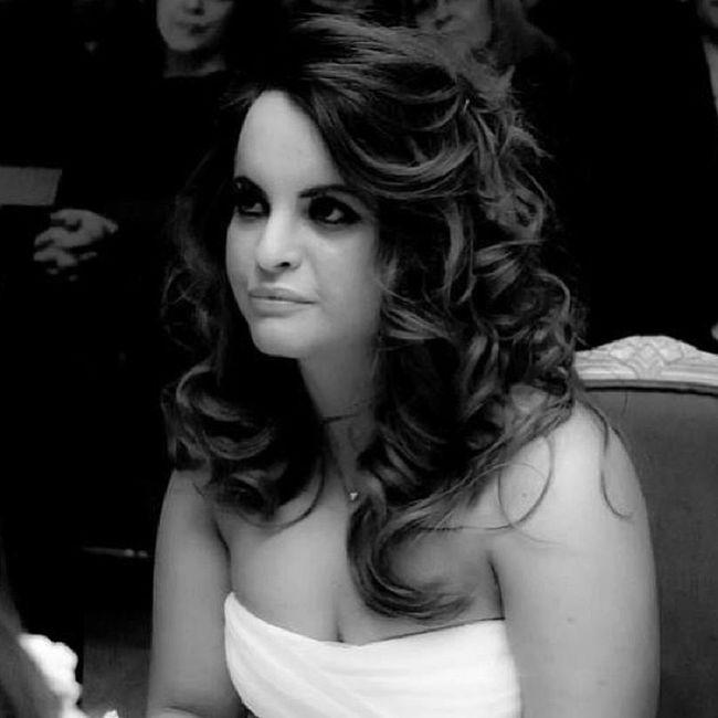 Wedding Rome Me Hairstyle Curly Alliance Bride Bridal Dress Jesuspeirò Tulle Seta Pois Polkadots