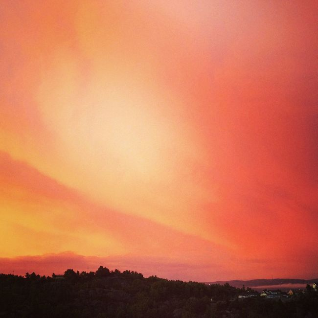 Sun_collection, Sky_collection, Cloudporn, Skyporn Summernight Beautiful Nature Beautiful Sunset