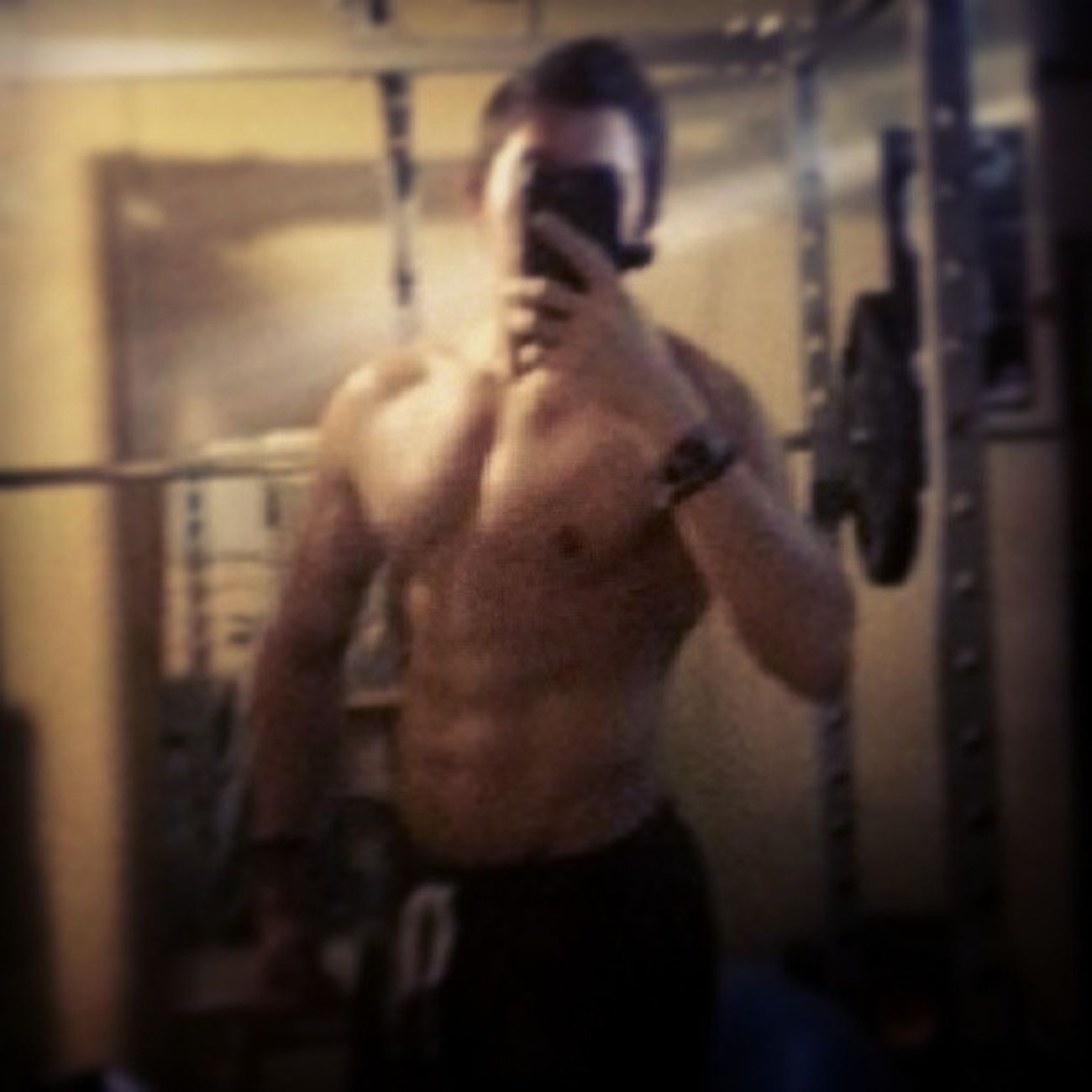 Blurry Selfie Gym Bored Keto Motivate  JustDoIt Thebeastden Filó Azn Halfcast Natty