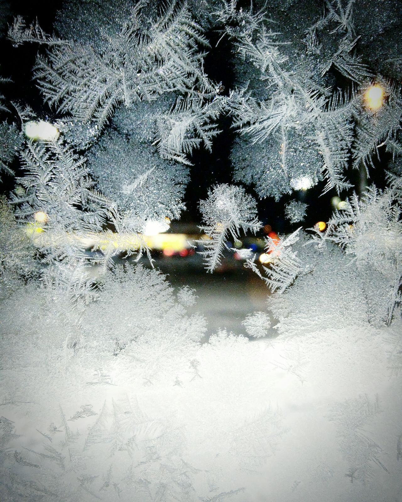 Glass and frost Winter Glass Frost Bokeh Lights Umeå Sweden Swedenimages Night Time Ice Pattern, Texture, Shape And Form Mobile Photography Pattern Photography Pattern Of Nature Pattern Photograph Crystalformation Icecrystals Freeze EyeEm Gallery EyeEmBestPics Eyeem Market