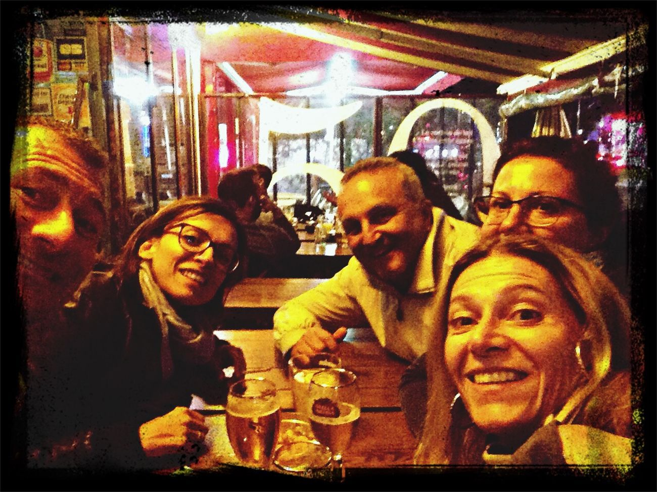 La premiere biere a Paris!