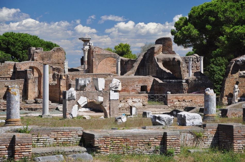 Beautiful stock photos of pompeii, Abandoned, Built Structure, Cloudy, Damaged
