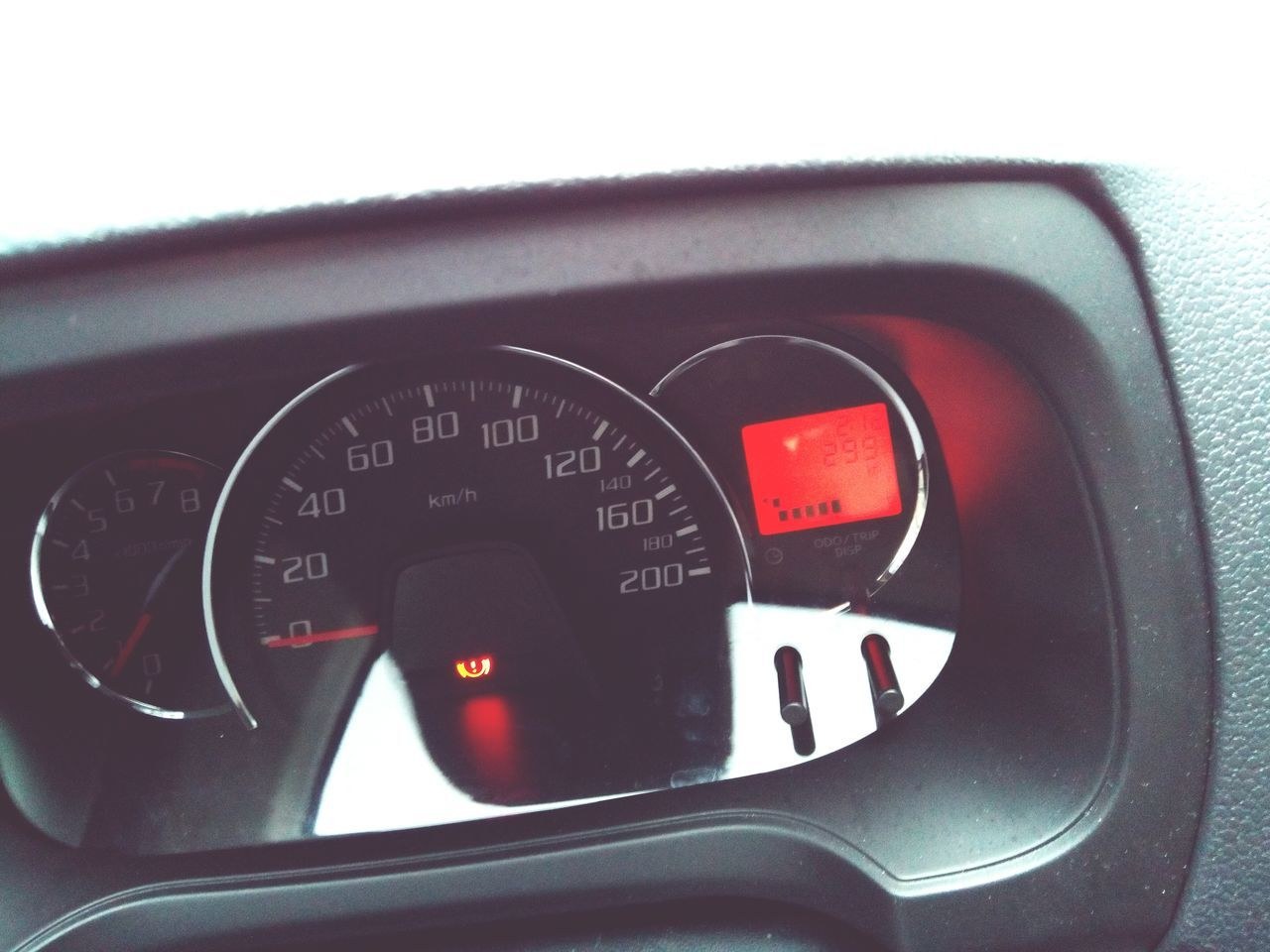 Car Interior Dashboard Vehicle Interior Speedometer Transportation Number Red Meter - Instrument Of Measurement Speed Control Panel Car Gauge Mode Of Transport