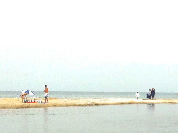 Travel Michigan Umbrella Lady Umbrella Beach Life PhonePhotography Phone Photography Leisure Essence Of Summer