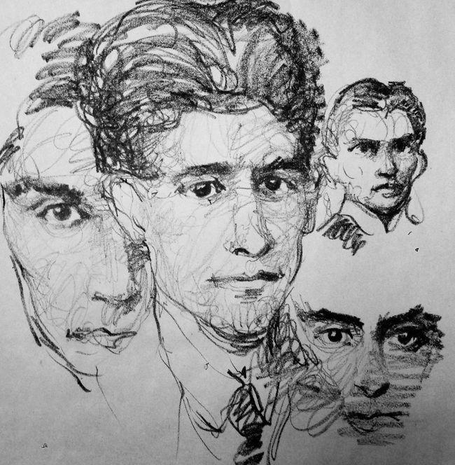 K. graphite on paper drawing Blackdrawing Art, Drawing, Creativity Draw Drawings ArtWork Sketch EyeEm Artist Blackandwhite Art