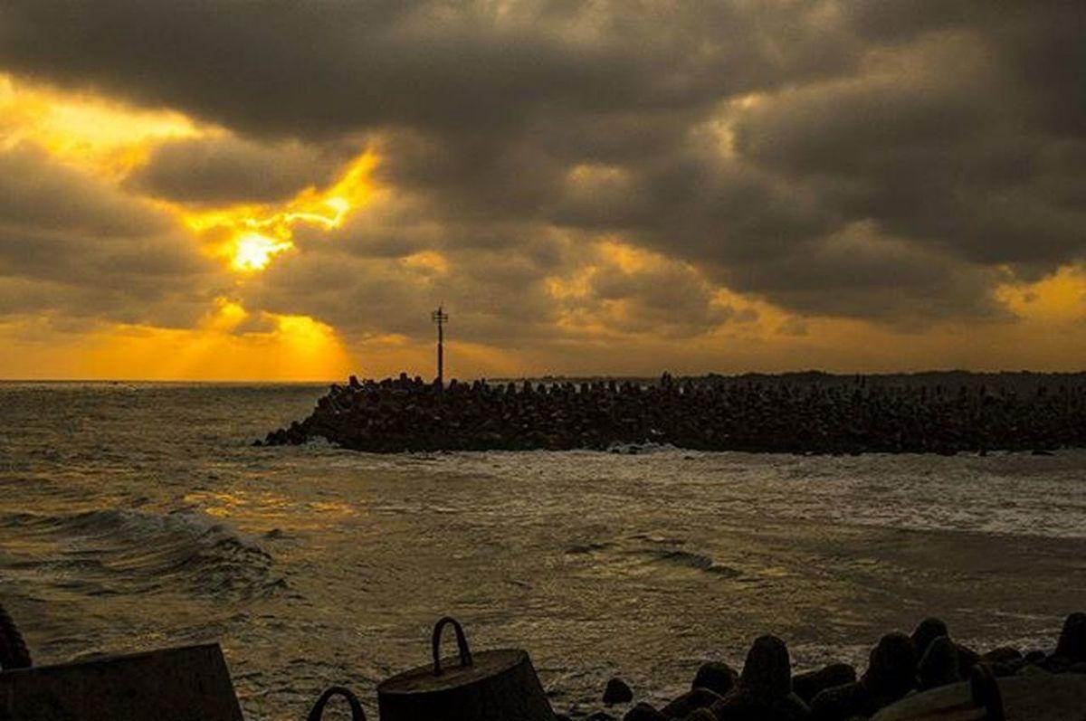 pemecah gelombang pantai glagah @marlinbrekele @agustinus_widi @pabayita Geblekkp Geblekchallenge02