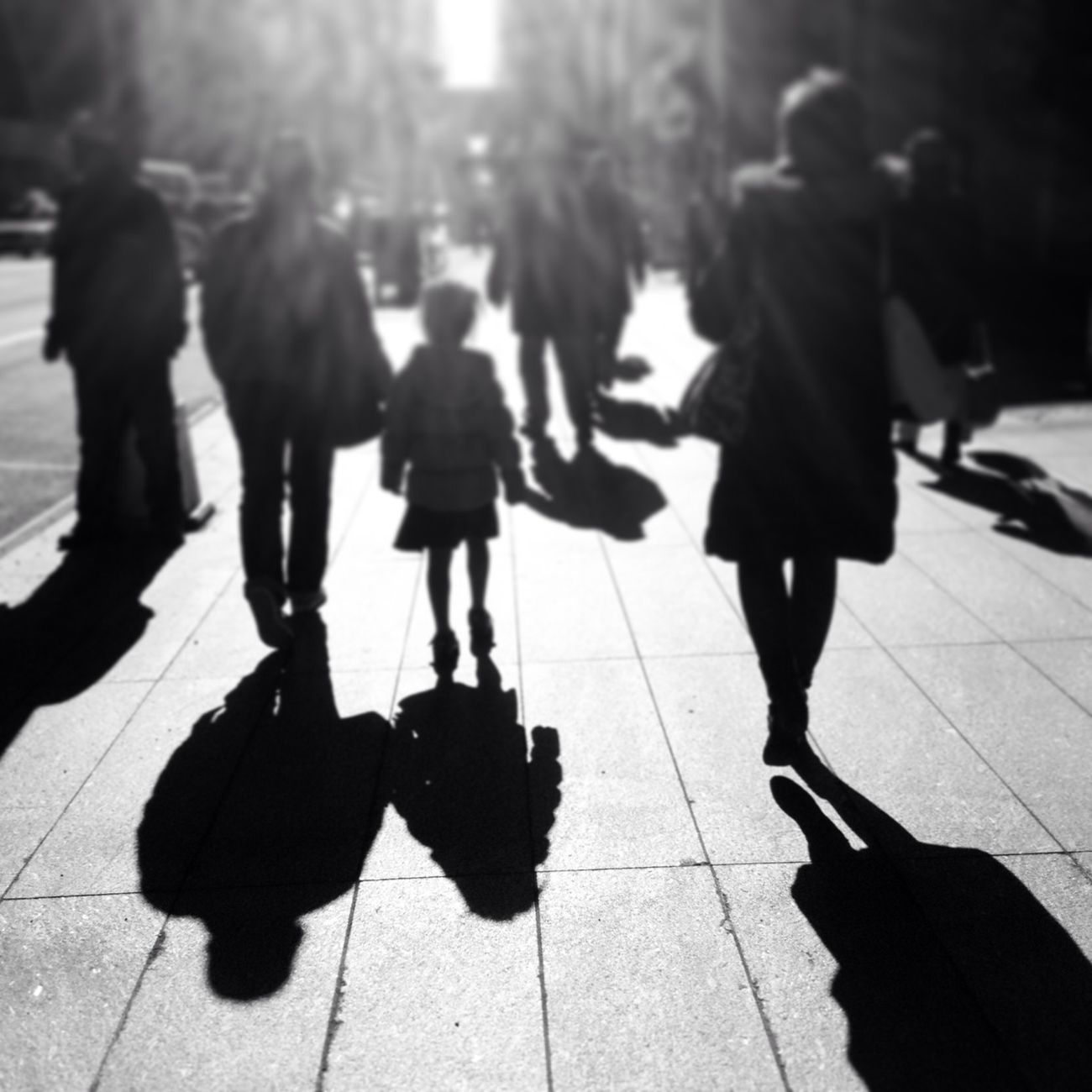 Morning rush. Street NYC Streetphotography Blackandwhite