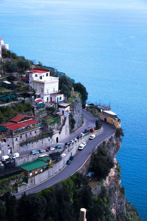 Amalfi  Amalfi Coast Amalfi Italy Architecture Blue Building Exterior Built Structure City Cityscape Day High Angle View Large Group Of People Nature Nautical Vessel Outdoors People Sea Sky Summer Town Travel Destinations Tree Vacations Water