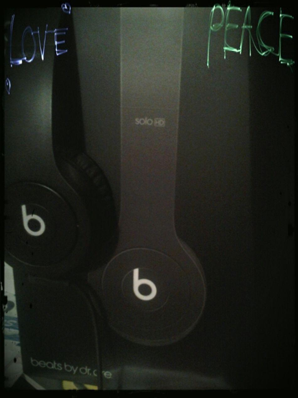 mon nouveau casque ☆★♡♥ Music <3 Beats By Dr. Dre