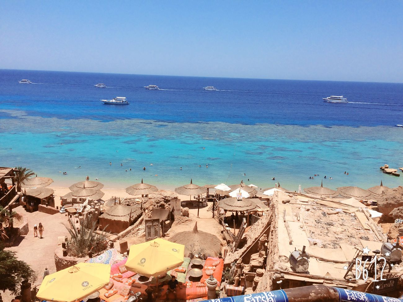 My Year My View Egypt Without Edit ^^ Morning Sea Beach Water Horizon Over Water Clear Sky Beauty In Nature
