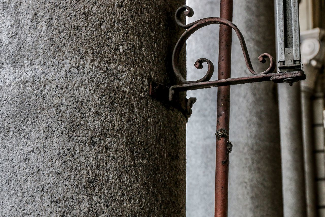 metal, close-up, no people, day, outdoors, pipe - tube, rusty, water pipe, architecture
