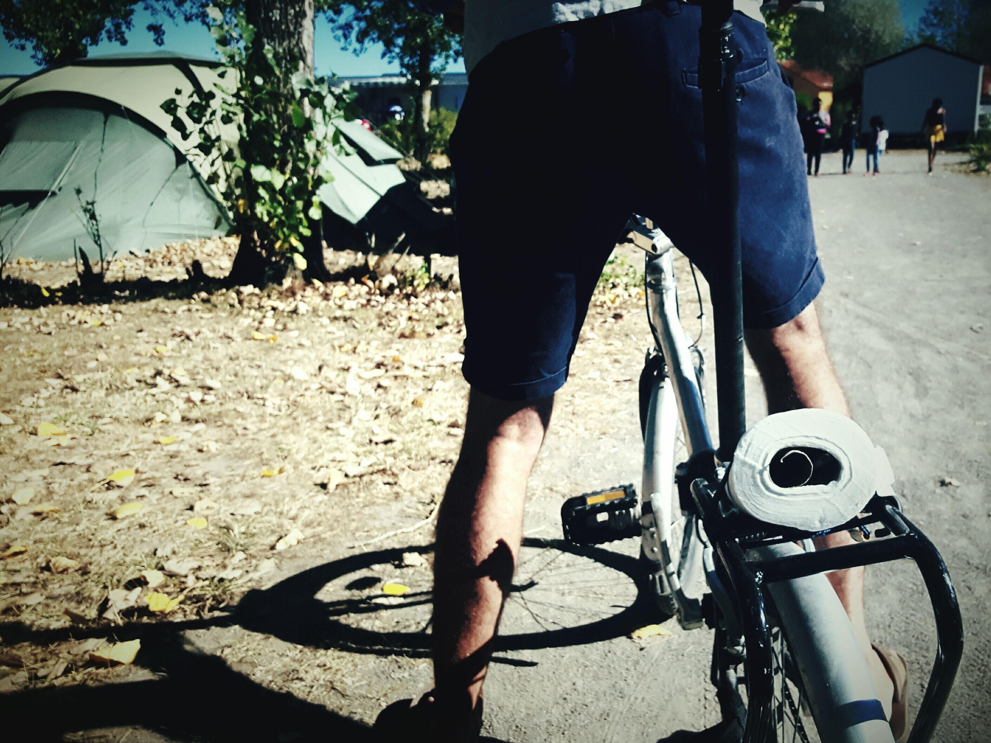 Thinks100 day 91. Slow Morning Quick Dash On My Bike To The Loo Loo Roll Campinglife