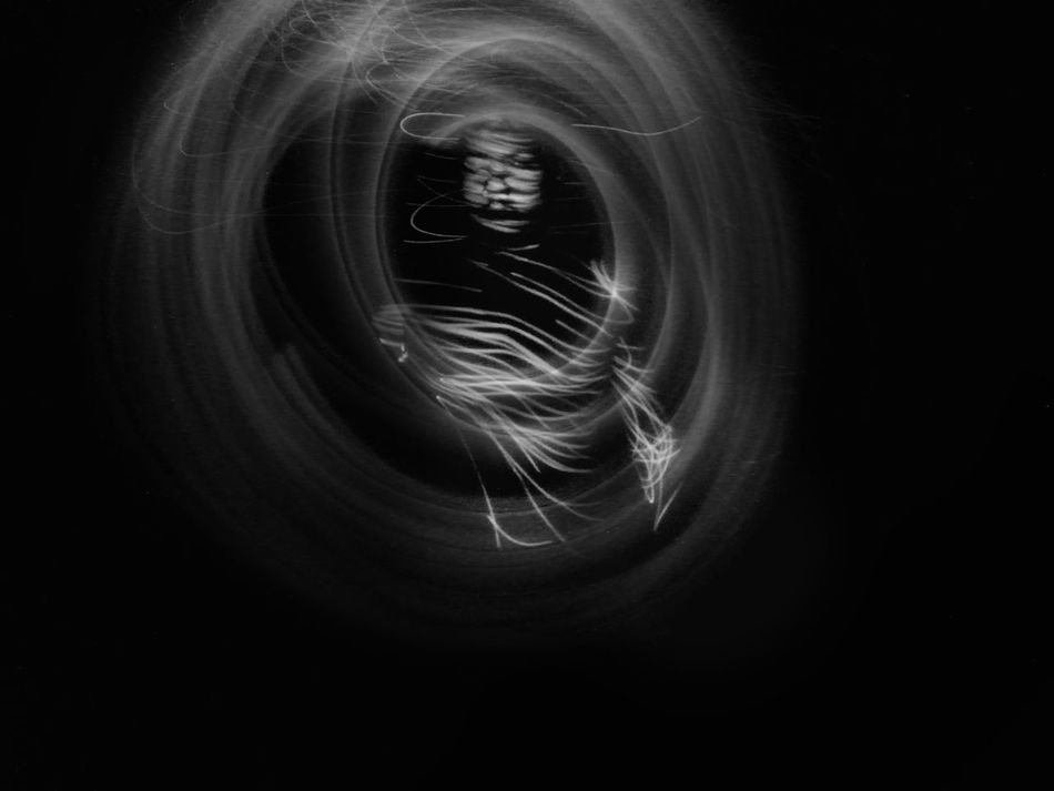 Trapped without any escape 2.0 Black Background Close-up Laser Abstract Indoors  Selfportrait Light Trail Long Exposure One Person Art Light Painting Photography. Conceptual Self Portrait Blackandwhite Art Is Everywhere