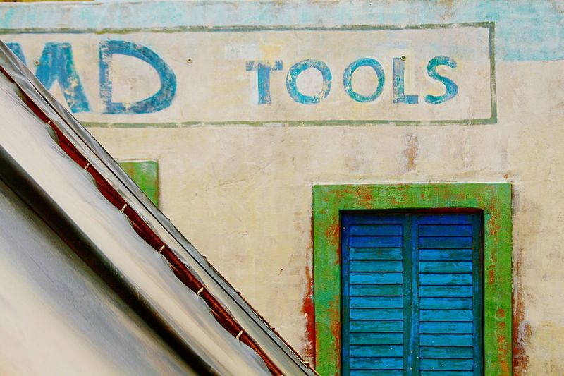 Tools Sign Tools Wall Old Sign Painted Sign Faded Painted Sign