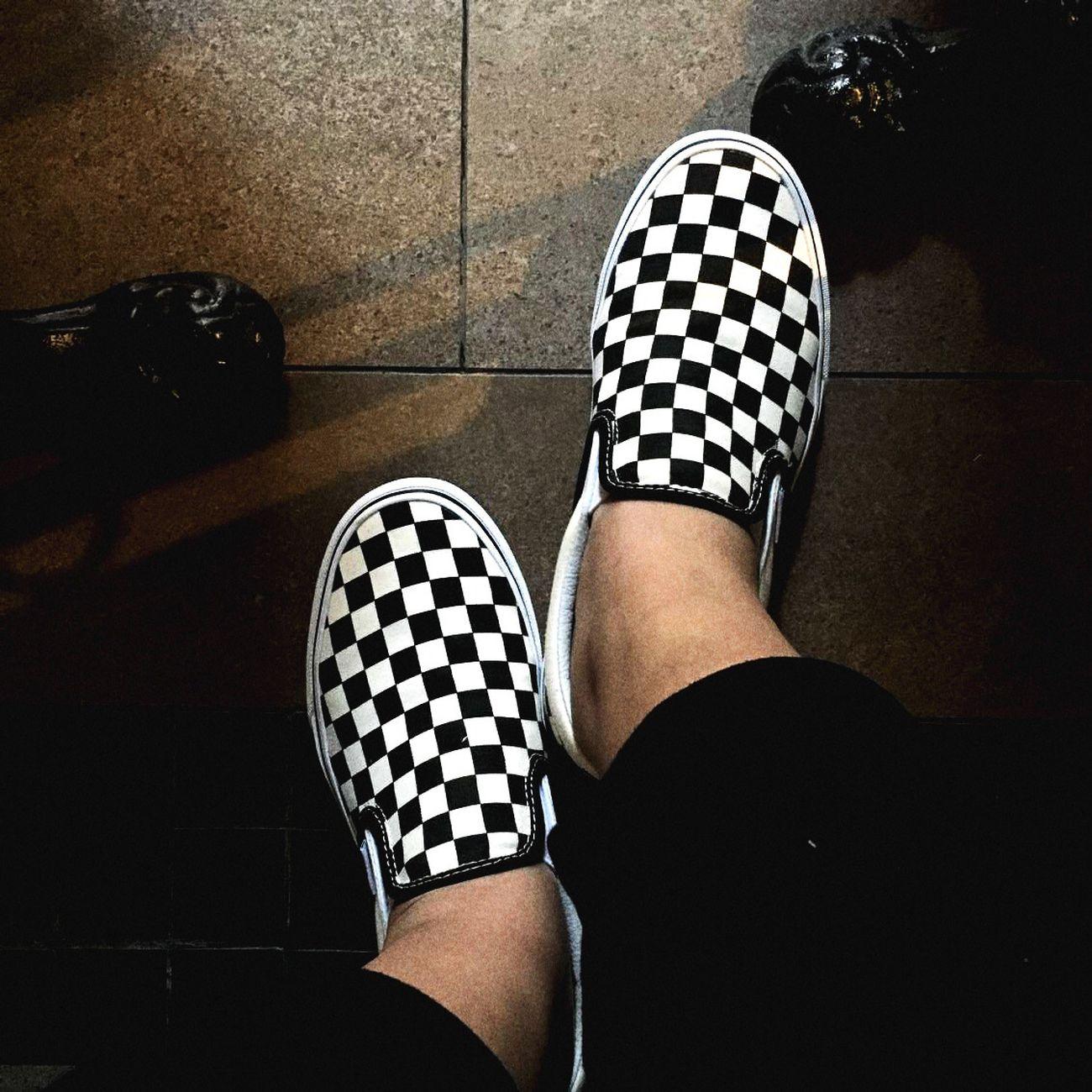 Vans Vans Off The Wall Vansshoes Vans #swag Vansgirl Vanslove Vans.❤ Slipon Blackandwhite