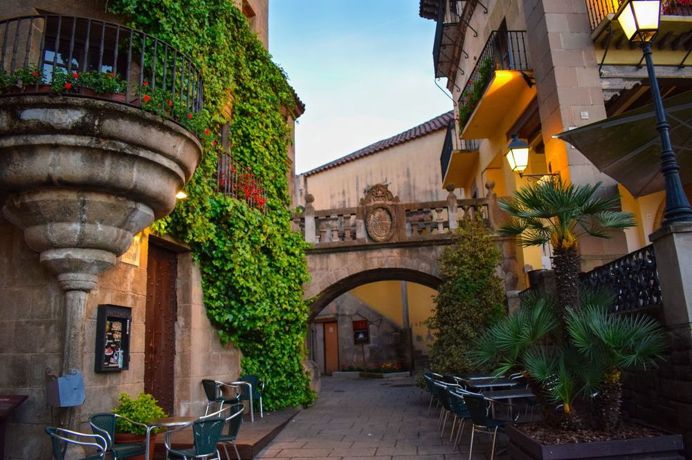 EyeEmNewHere Colour Of Life Colourful Textures Last Light Of Day Poble Espanyol Barcelona, Spain