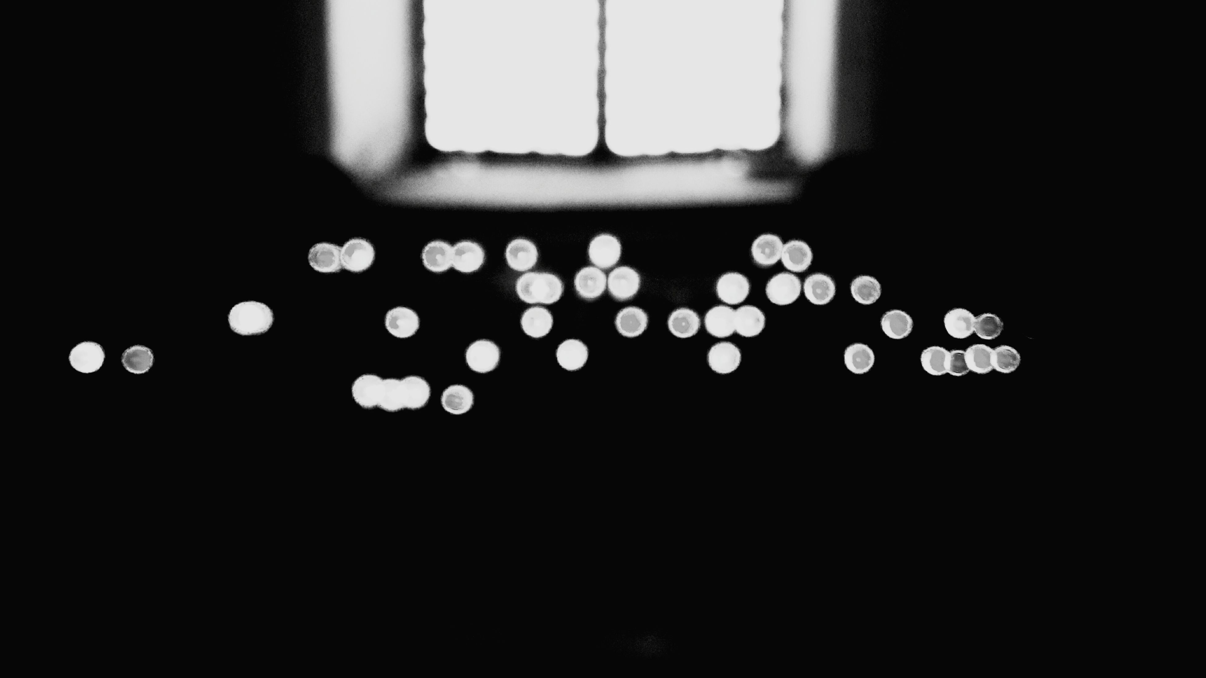 indoors, dark, defocused, close-up, illuminated, light, ideas, lit, blue, lens flare, electric light, surface level