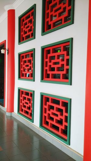 Wall Chinese Design Wall Chinese Architecture Mosque Architecture Caligraphy Background Chinese Caligraphy Red N Green Architecture Unique Architecture Mosque
