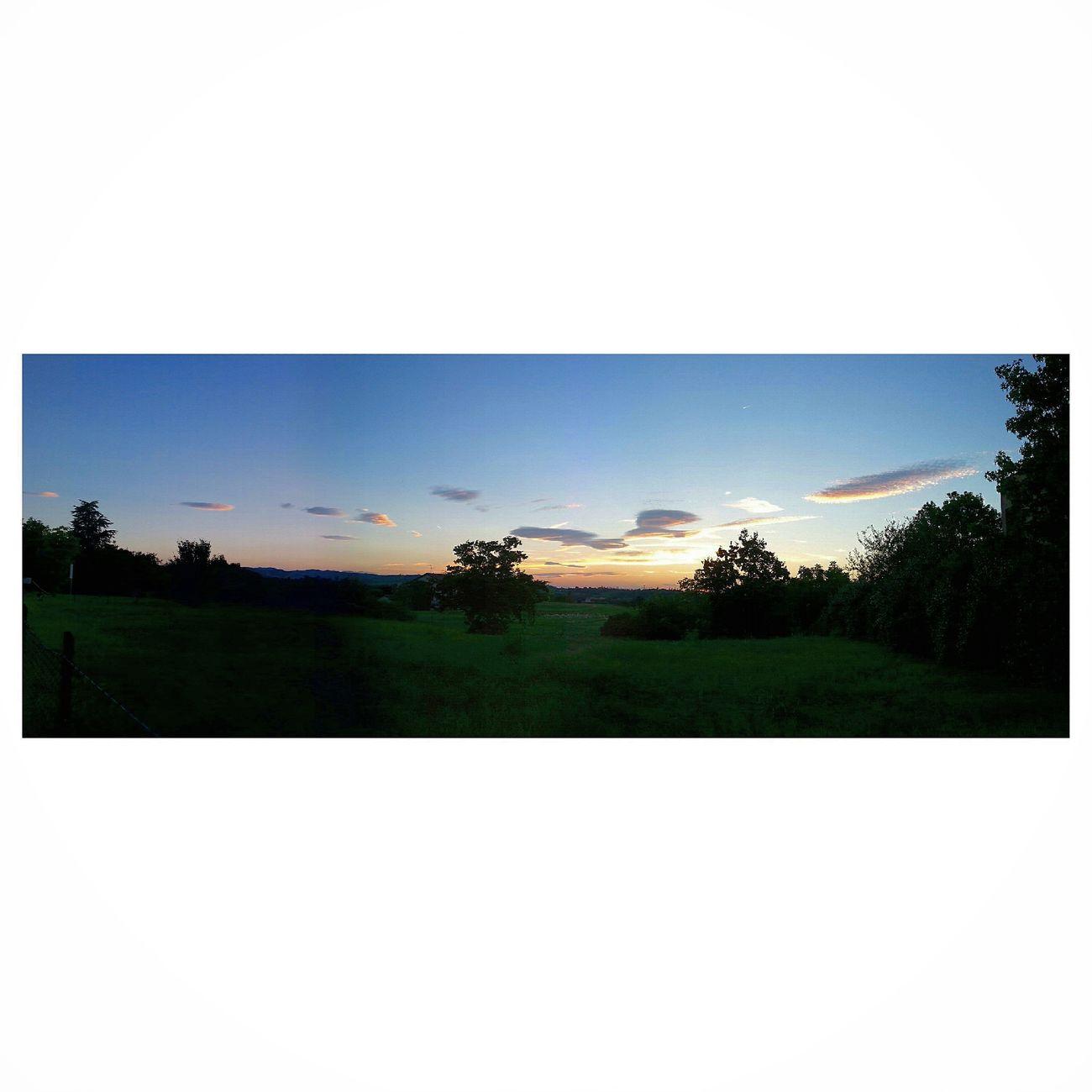 Sunrise Nature Makes Me Smile Hello World Landscape Darkness And Light