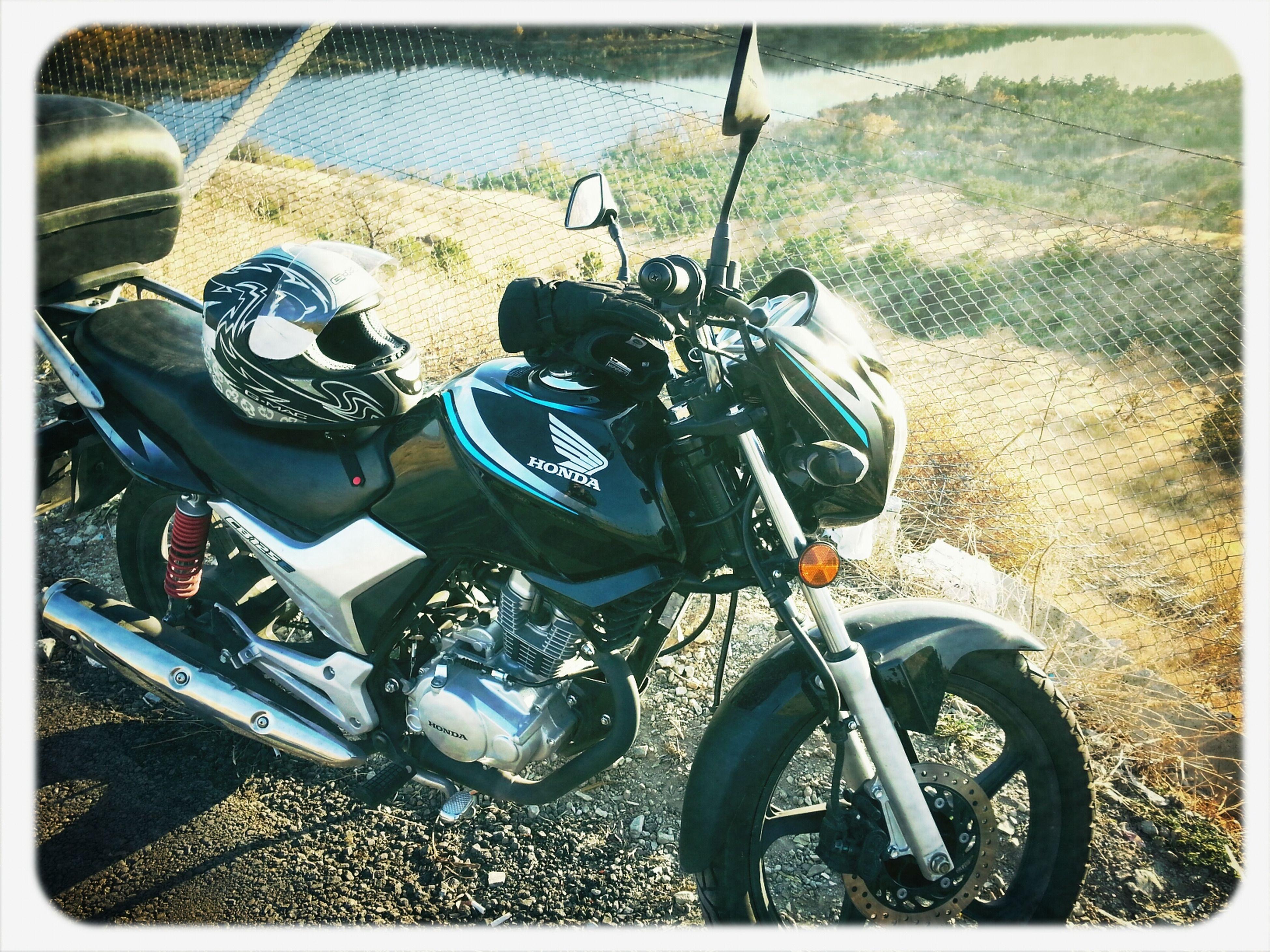 Motorize akşamlar. .. Sunbathing