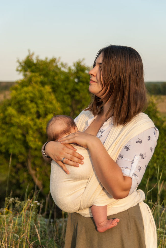 Looking for inspiration in nature Baby Baby Sling Baby Wrap Babywearing Bonding Childhood Children Confidence  Day Family Happiness Lifestyle Love Maternity Mom Mother And Son Motherhood Outdoor Outdoors Parenting Portrait Real People Sling Summer Woman