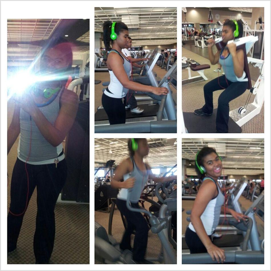 Always gotta stay in shape!