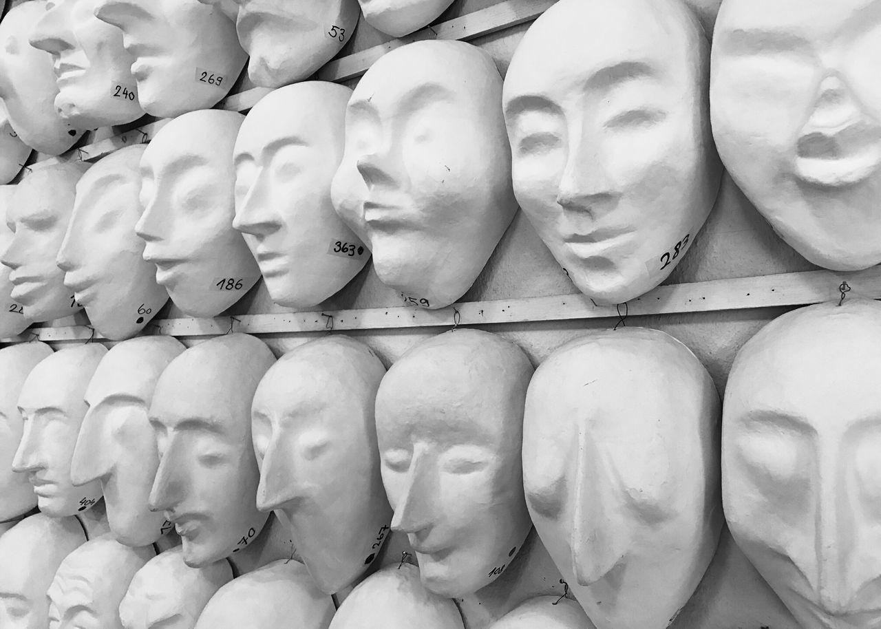 Basler Fasnacht Larven Masks