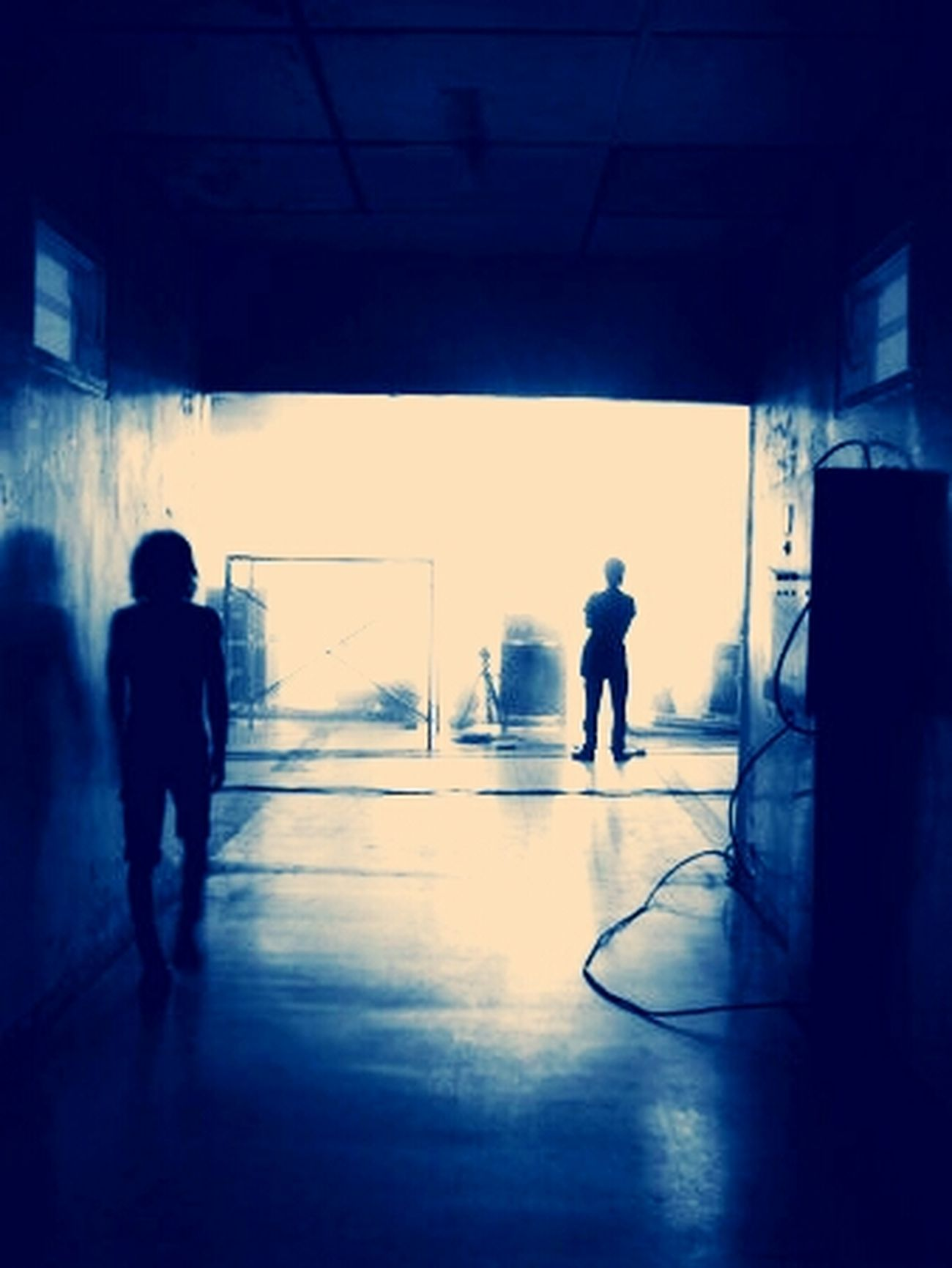Lembang West Java warehouse man walking Silhouette Makingvideo Art Candid